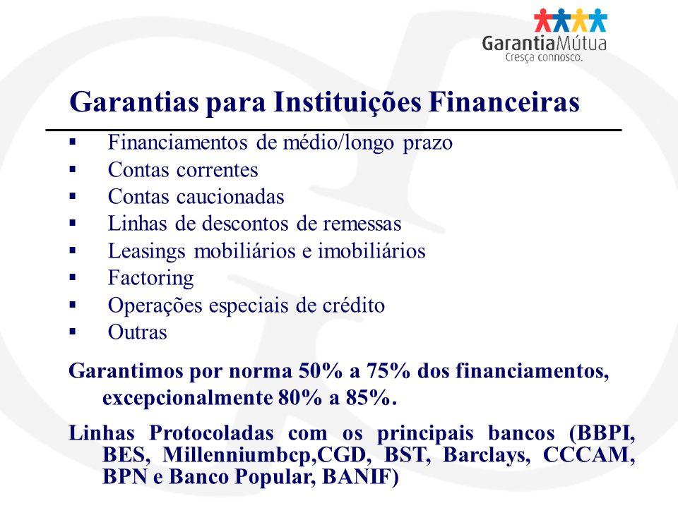 Garantias para Instituições Não Financeiras Para recebimento antecipado de incentivos A fornecedores A favor do Estado (SIVA, concur.