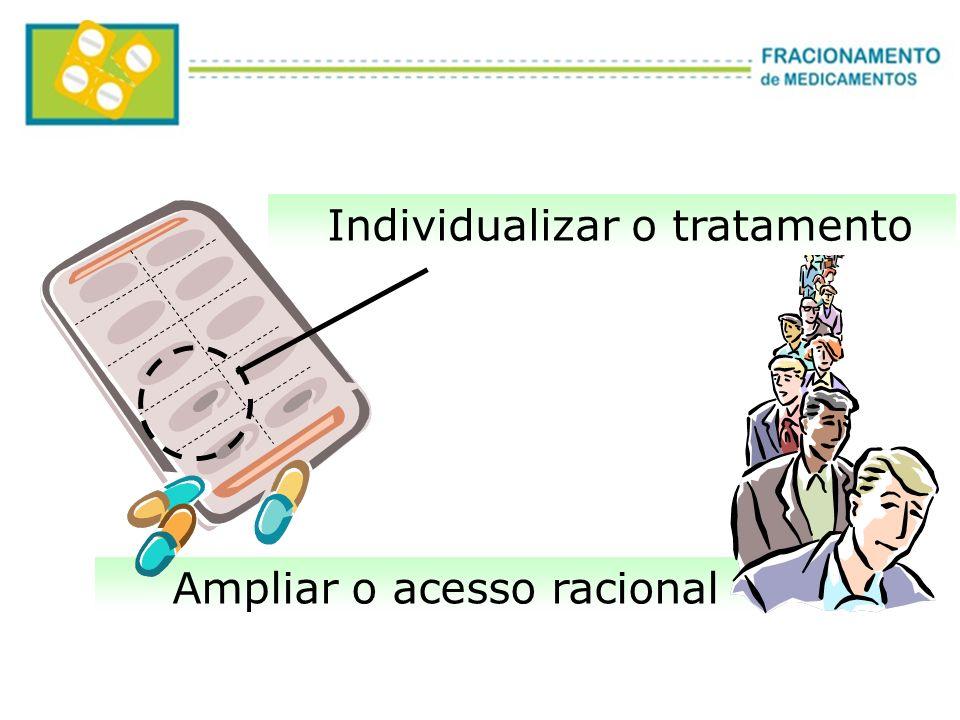 Ampliar o acesso racional Individualizar o tratamento