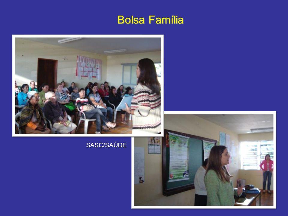 Bolsa Família SASC/SAÚDE