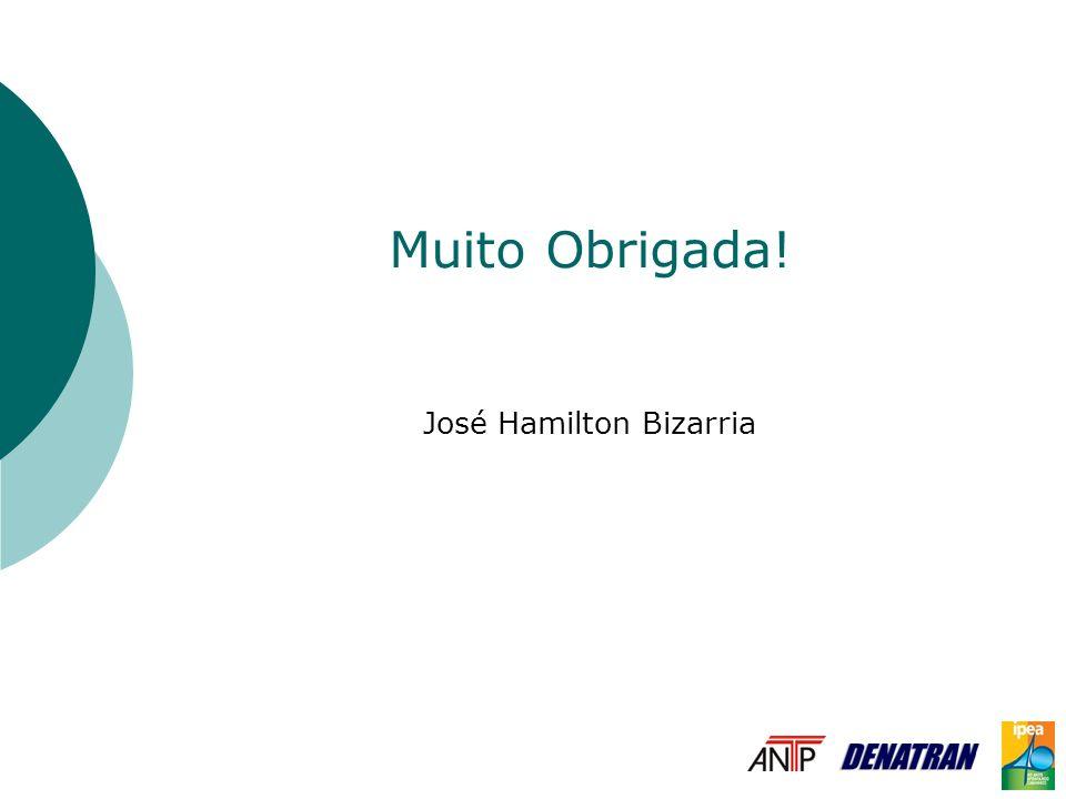 Muito Obrigada! José Hamilton Bizarria