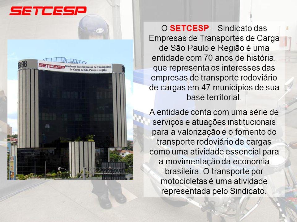 O SETCESP – Sindicato das Empresas de Transportes de Carga de São Paulo e Região é uma entidade com 70 anos de história, que representa os interesses