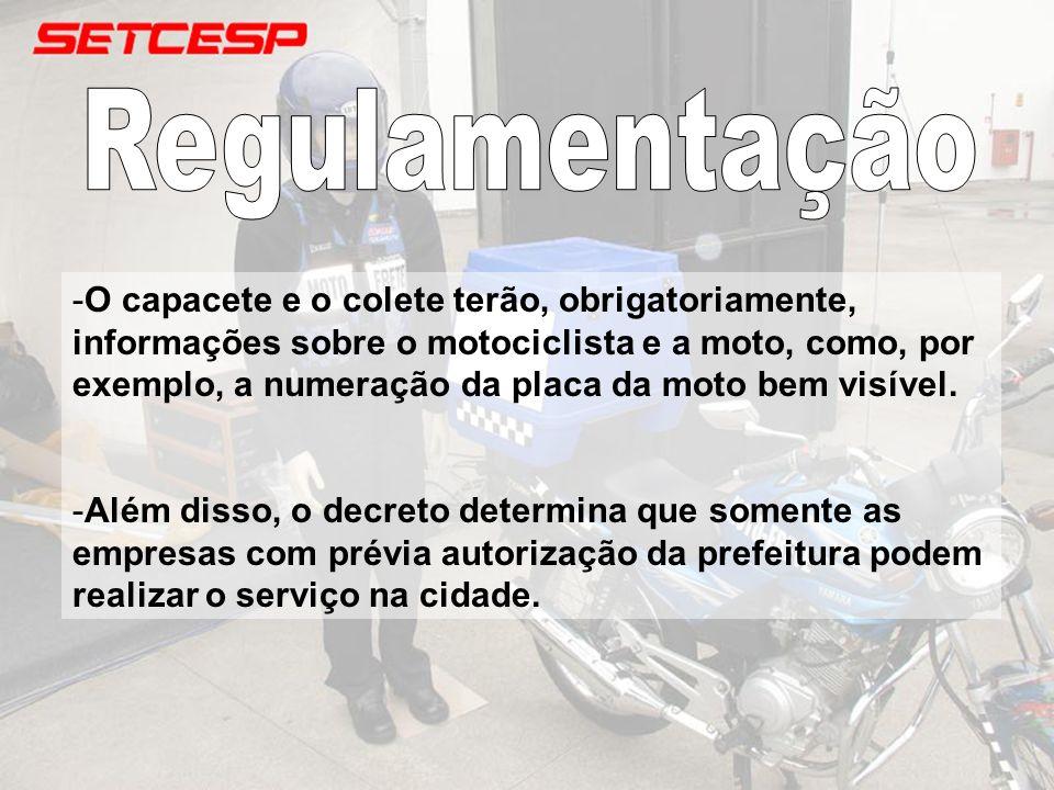 -A motocicleta deverá passar o documento para transporte misto e deverá ocorrer a troca da placa, para vermelha.
