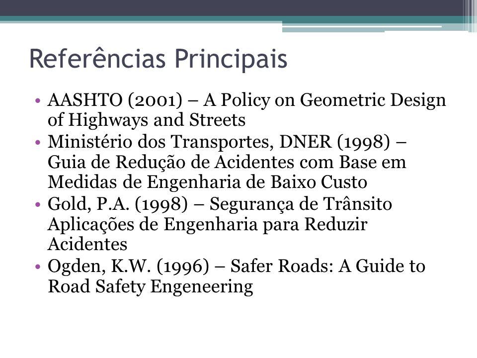 Análise Crítica As obras revisadas trazem informações superficiais sobre as medidas de segurança para pedestres Não é claro os critérios de utilização