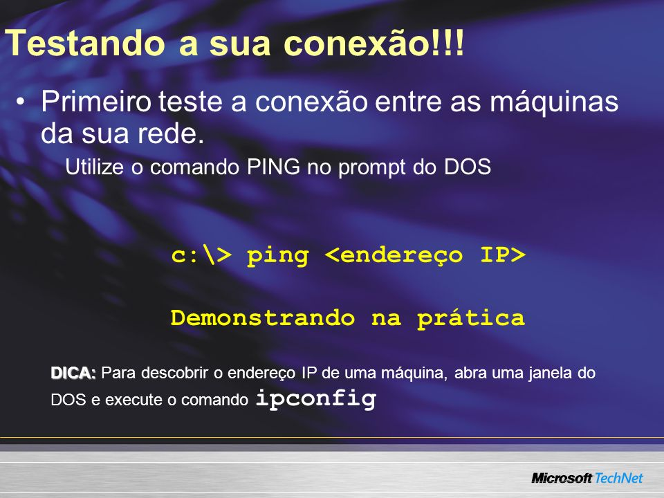 Sistemas Operacionais Suportados Windows XP Professional Windows XP Home Edition Windows 2000 Windows 9x Outros SOs Windows XP Home Edition Windows XP Professional Gateway principal