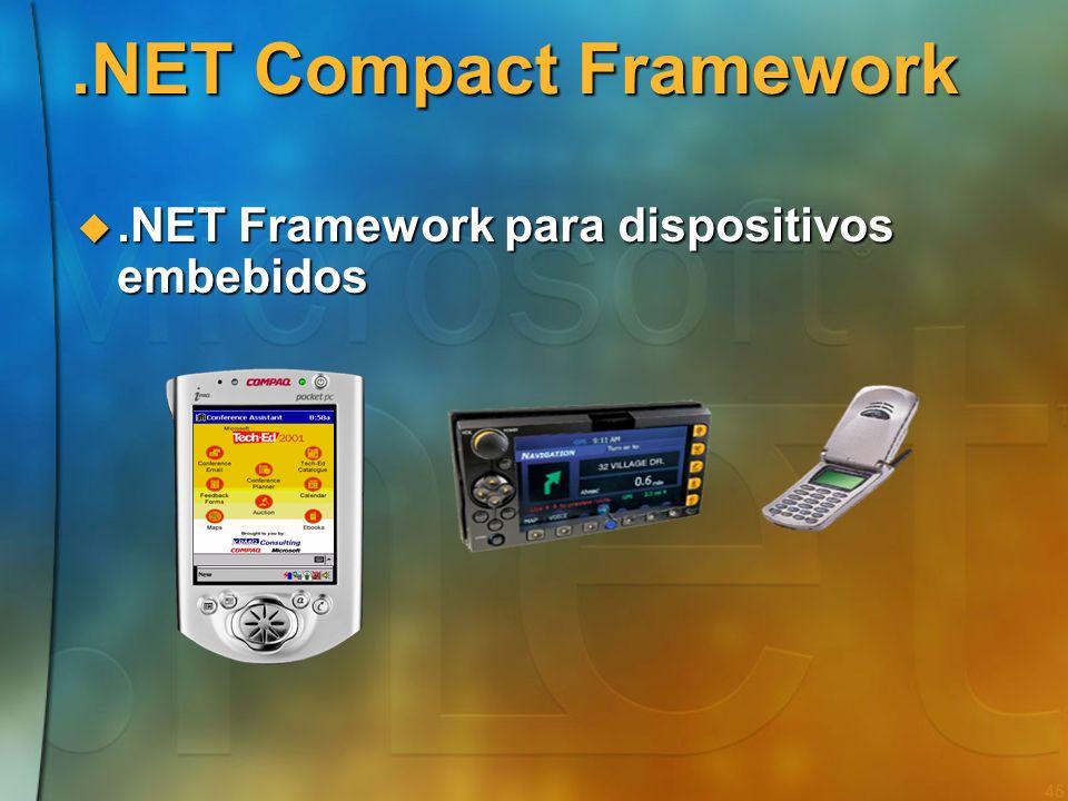 44 Como saber mais sobre a.NET Framework?.NET Framework SDK (essencial!).NET Framework SDK (essencial!) CLR, compiladores de linha de comando, debugge