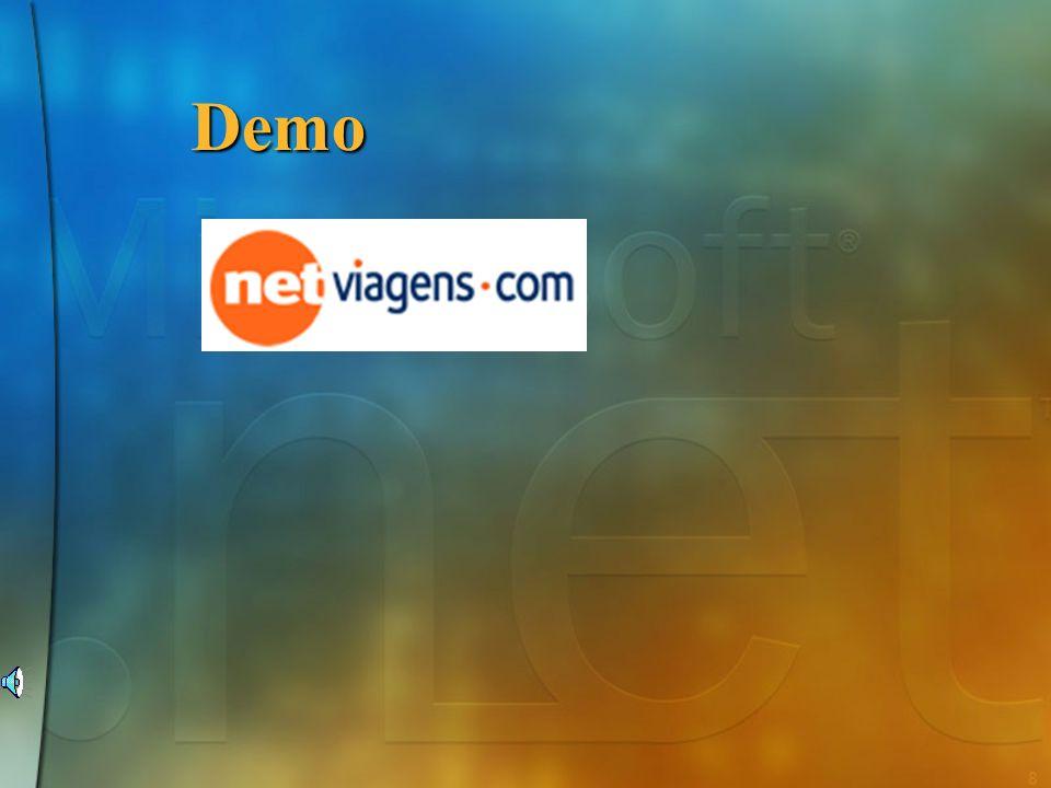 28 Objectivos no desenho da.NET Framework Simplificar o desenvolvimento de aplicações Simplificar o desenvolvimento de aplicações Fornecer um ambiente de execução seguro e robusto Fornecer um ambiente de execução seguro e robusto Suporte para múltiplas linguagens de programação Suporte para múltiplas linguagens de programação Simplificar a distribuição e manutenção de aplicações Simplificar a distribuição e manutenção de aplicações