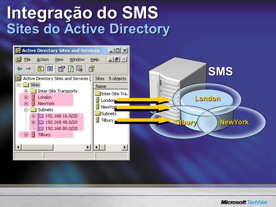 SMS London Tilbury NewYork