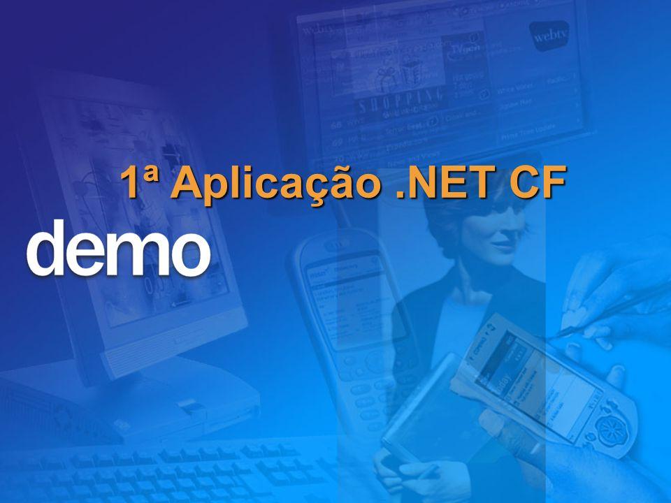 1ª Aplicação.NET CF