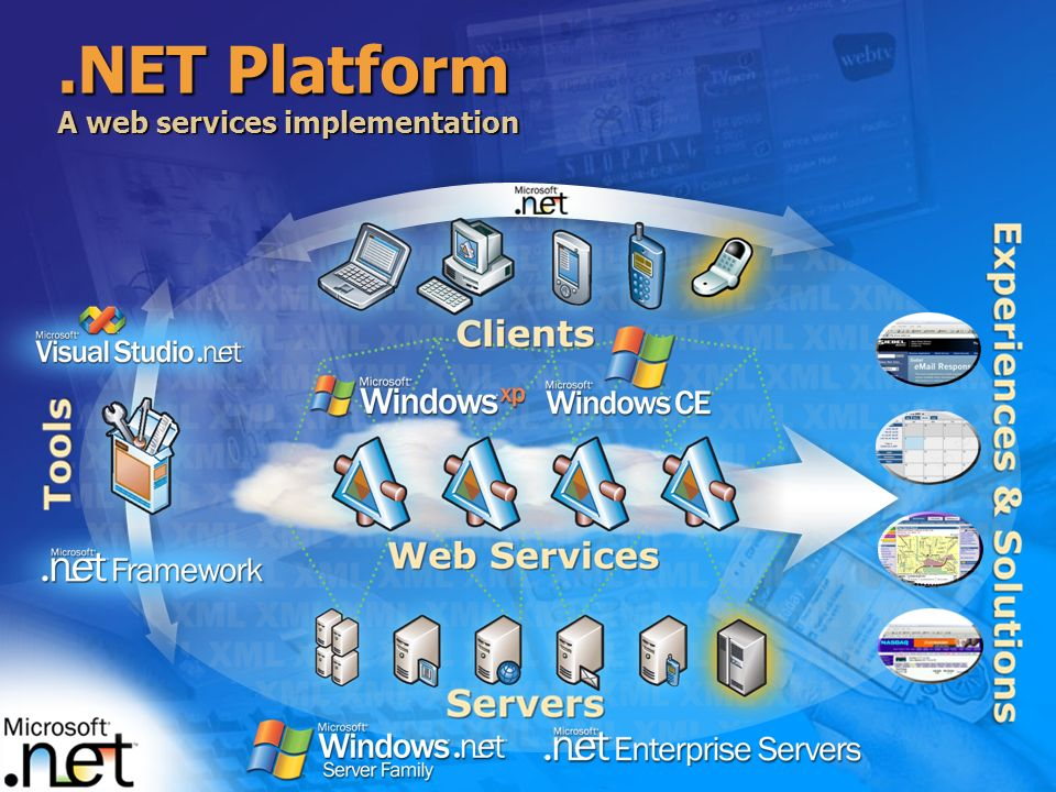 .NET Platform A web services implementation