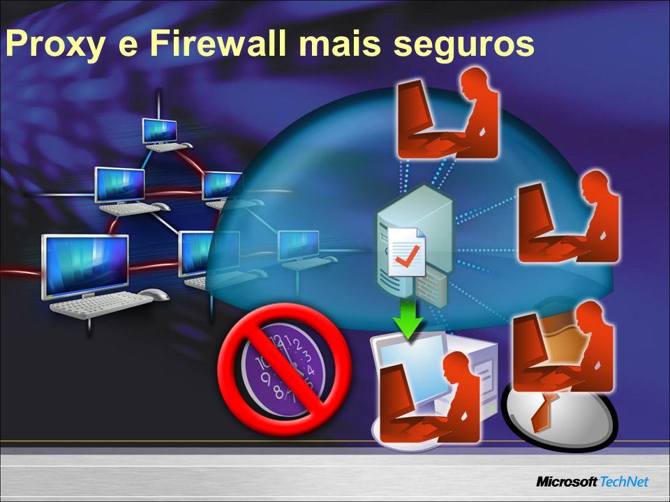 Proxy e Firewall mais seguros