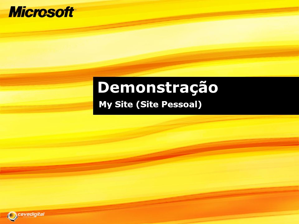 Utilizador final: Personalização do My Site My Site de um Aluno My Site de um Professor