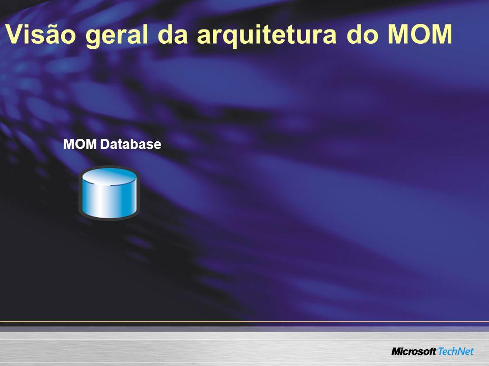 Visão geral da arquitetura do MOM MOM Database