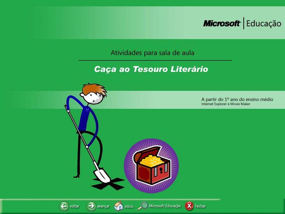 CAÇA AO TESOURO LITERÁRIO
