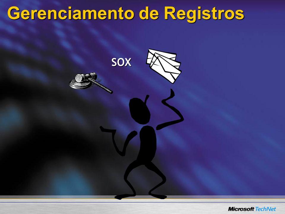 Gerenciamento de Registros SOX