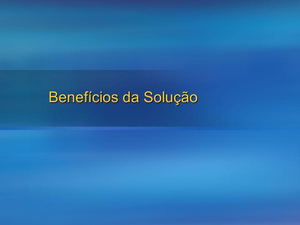 Benefícios da Solução