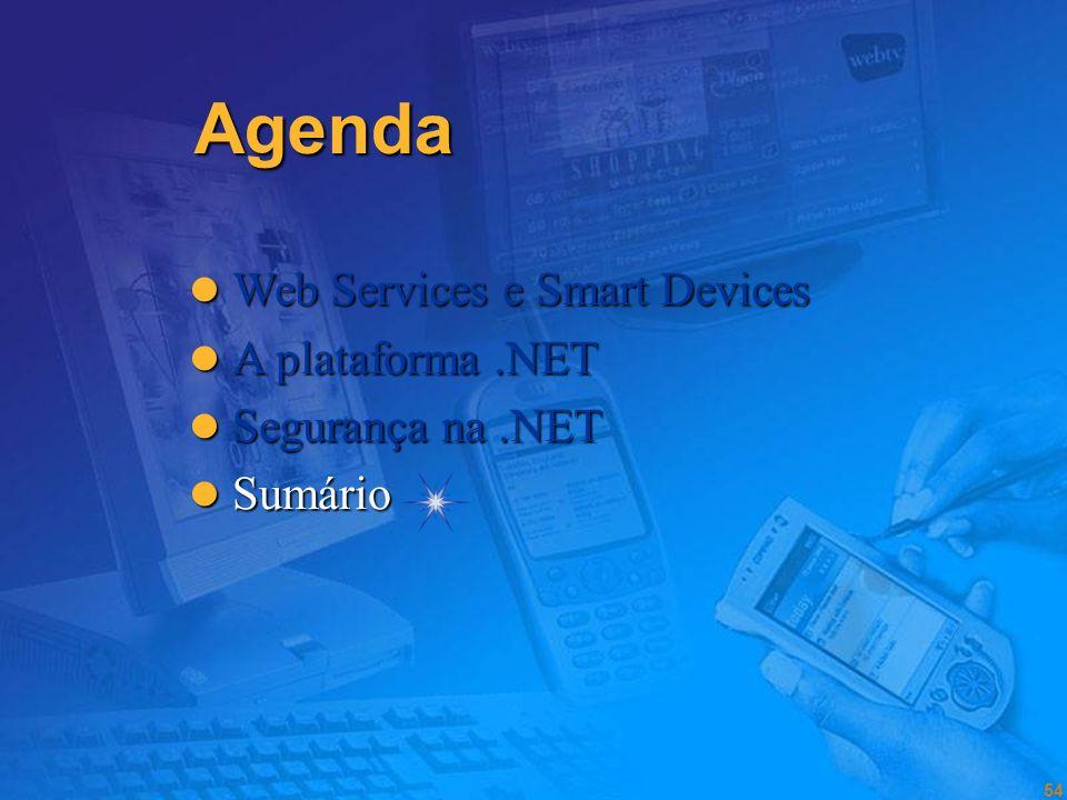 53 Boas Prácticas Segurança na.NET Framework Não ignorar a segurança!!!! Não correr tudo como Administrator / FullTrust porque senão não funciona!!! P