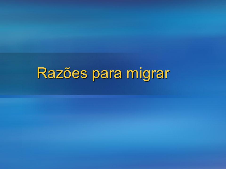 Razões para migrar
