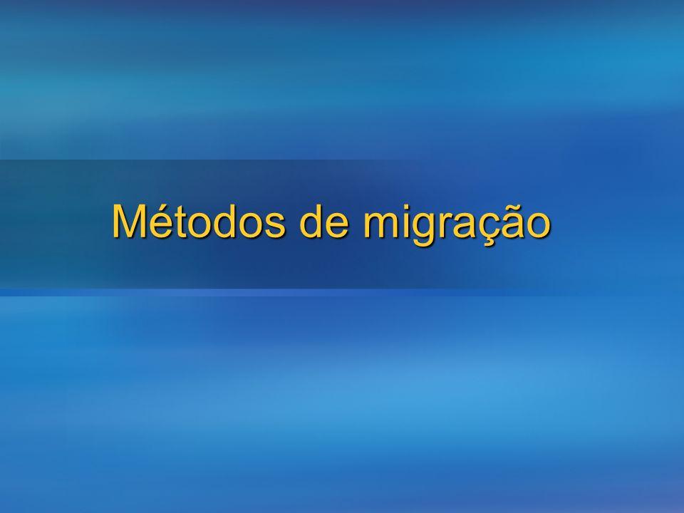 Métodos de migração