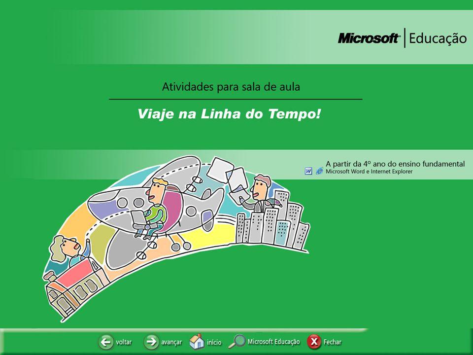 VIAJE NA LINHA DO TEMPO!
