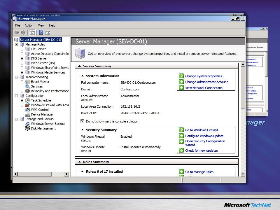 Conclusão Você aprendeu as novidades do novo console do Server Manager.Você aprendeu as novidades do novo console do Server Manager.