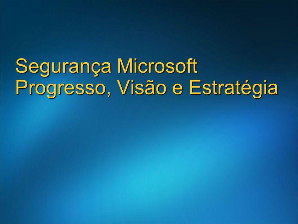 Linha de produtos Microsoft Antigen Lançamento em Q2 2006 Pontos fortes Vários motores antivírus para uma detecção mais rápida e protecção mais alargada Protecção Integrada de vírus e spam Microsoft Antigen