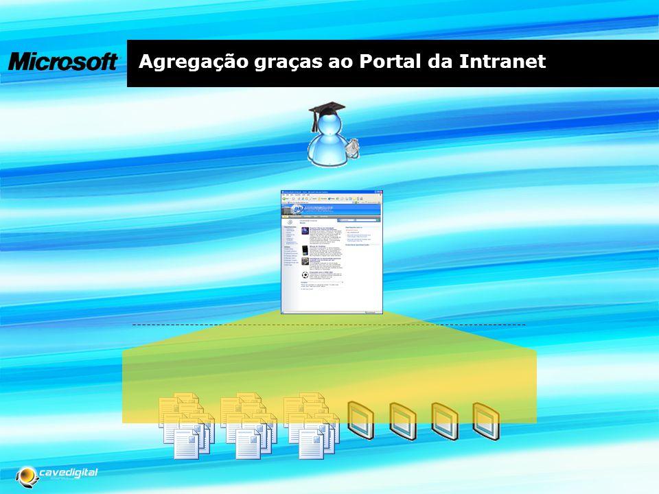 Agregação graças ao Portal da Intranet