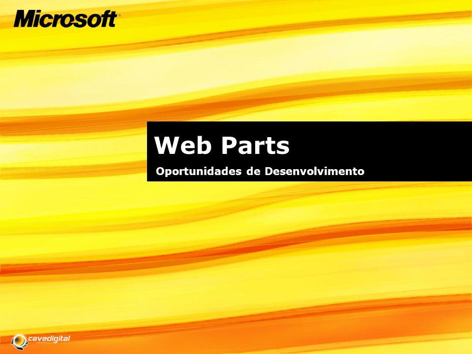 Web Parts Oportunidades de Desenvolvimento