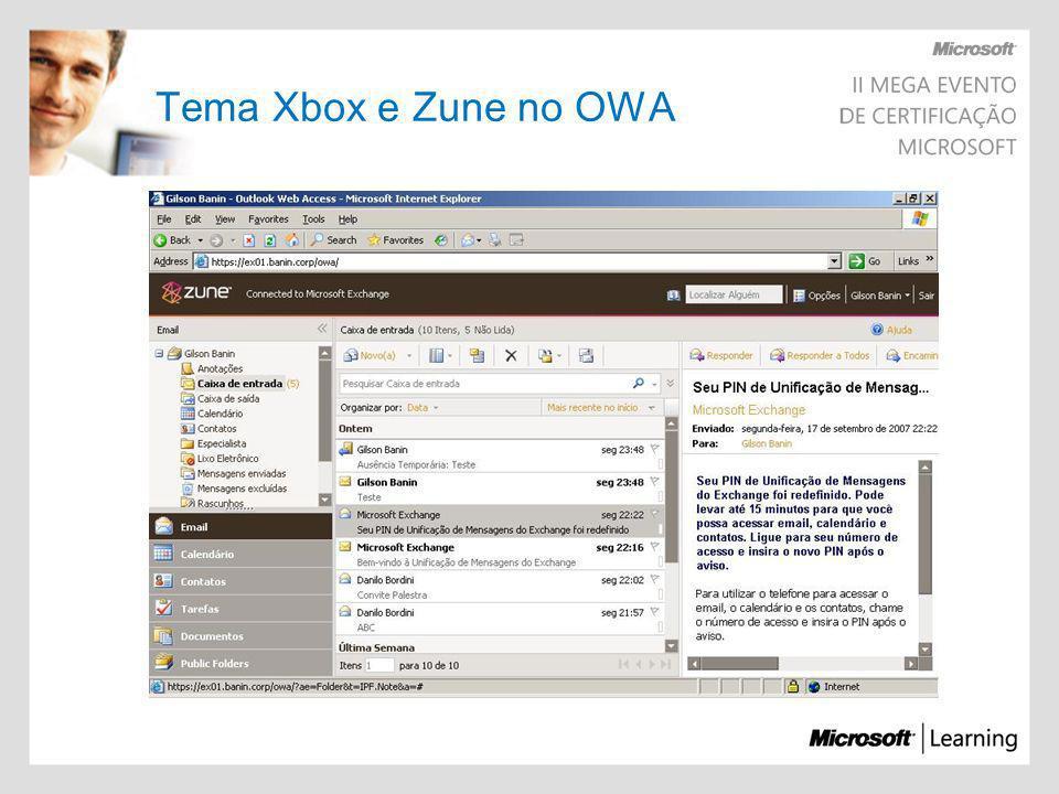Pré-Requisitos de Software Windows Server 2003 SP1 ou R2 Microsoft Management Console 3.0 Framework 2.0 Atualização do Framework KB926776 Power Shell (KB926139) Internet Information Services 6.0