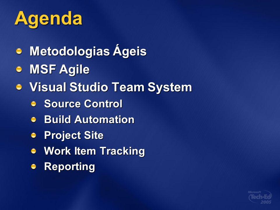 O process template do MSF Agile Fábio Câmara Program Manager MAS