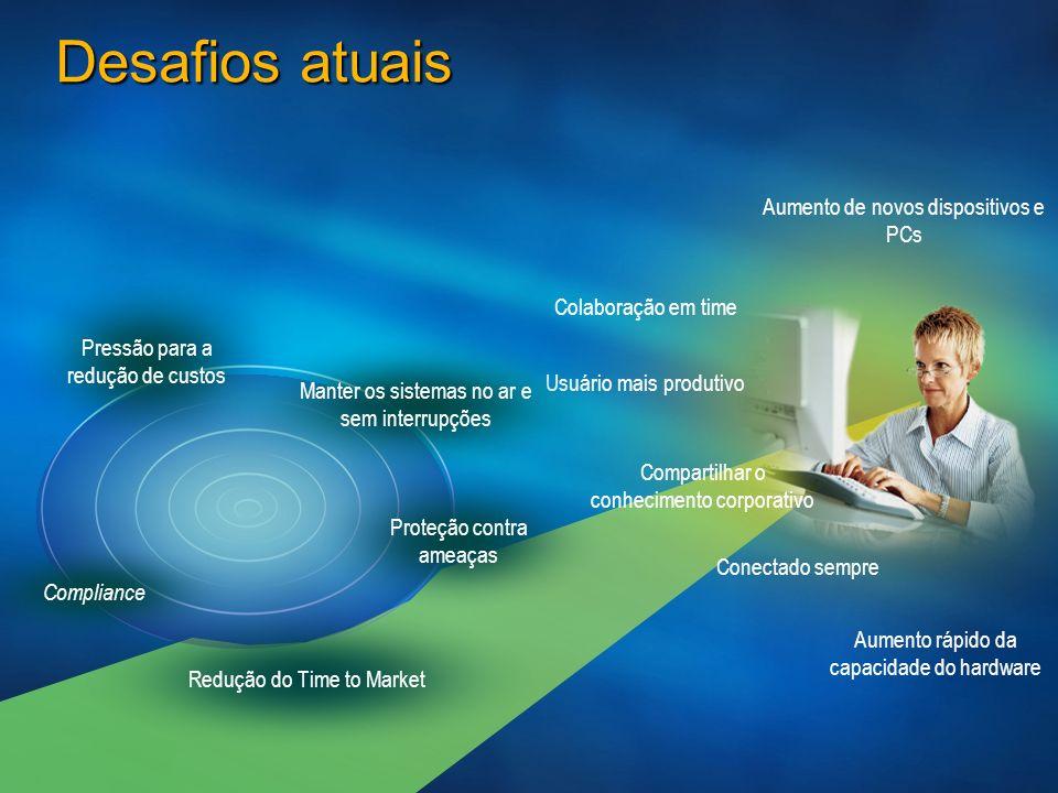 AERO Conceito Novo design para telas no ambiente Windows que permite aspecto translúcido as janelas Visualização real do arquivo no Windows Explorer Ícones de pasta com representações em miniatura de seus conteúdos AERO GLASS – Capacidade 3D Aspecto translúcido Permite visualização clássica para não gerar retreinamento Compatível com aplicações Windows XP Visualização real do arquivo no Windows Explorer Ícones de pasta com representações em miniatura de seus conteúdos AERO GLASS – Capacidade 3D Aspecto translúcido Permite visualização clássica para não gerar retreinamento Compatível com aplicações Windows XP