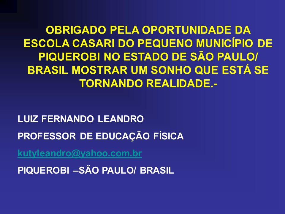 CONCLUSÃO: Infelizmente, muitas iniciativas voltadas para a melhoria da qualidade educacional no Brasil, carecem de objetivos e de foco correto O PROJ