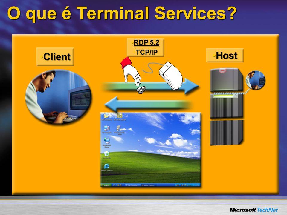 O que é Terminal Services.