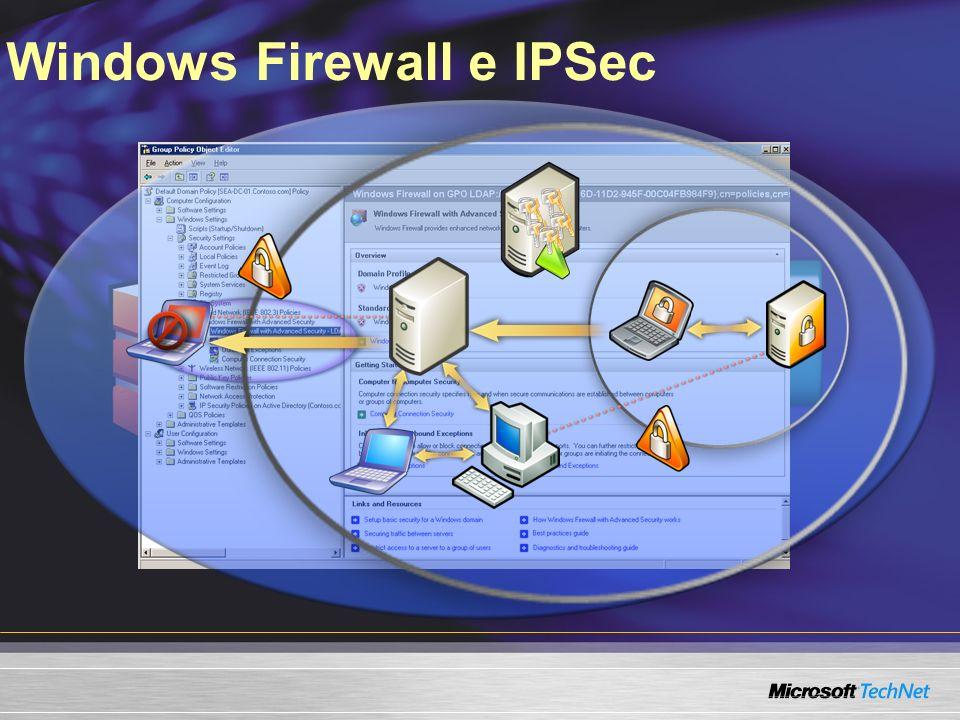 Windows Firewall e IPSec IPSec