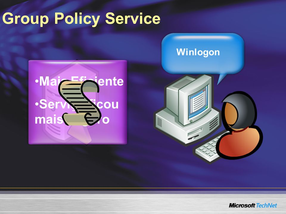 Network Awareness Ping Group Policy Client Ping Con~xão via VPN