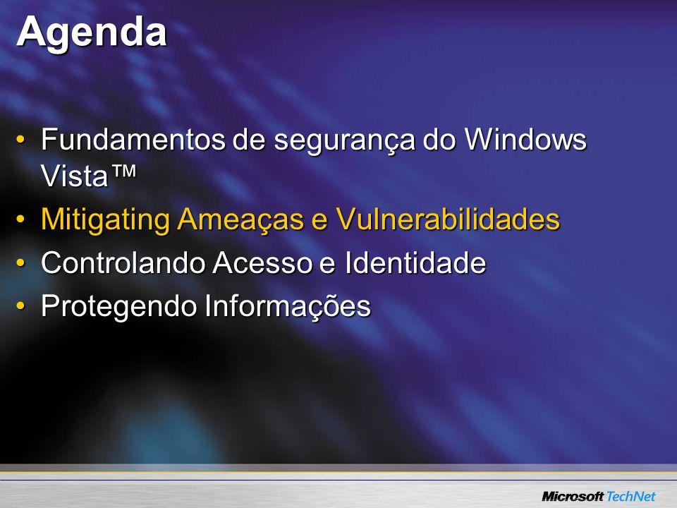 User Account Control Configurações Configurações demo demo