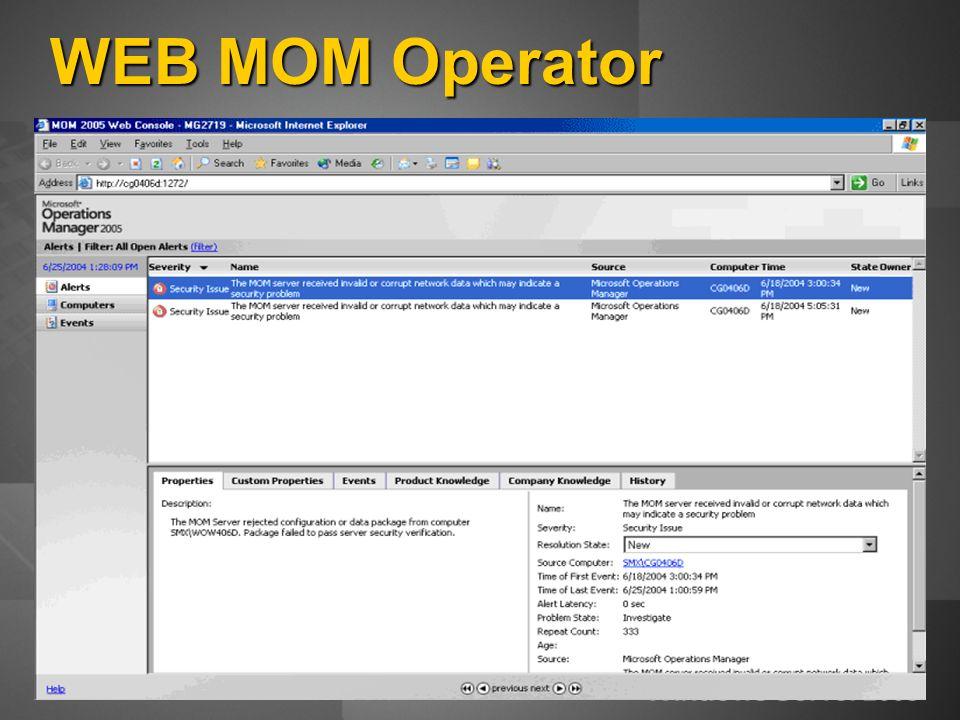 WEB MOM Operator