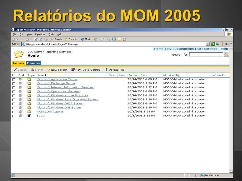 Relatórios do MOM 2005