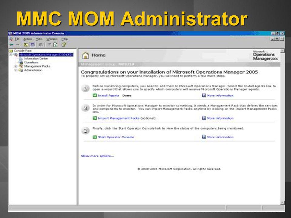 MMC MOM Administrator