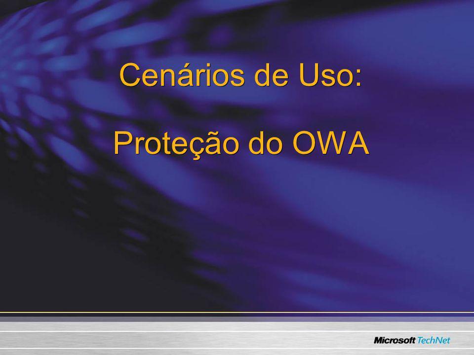 Cenários de Uso: Proteção do OWA