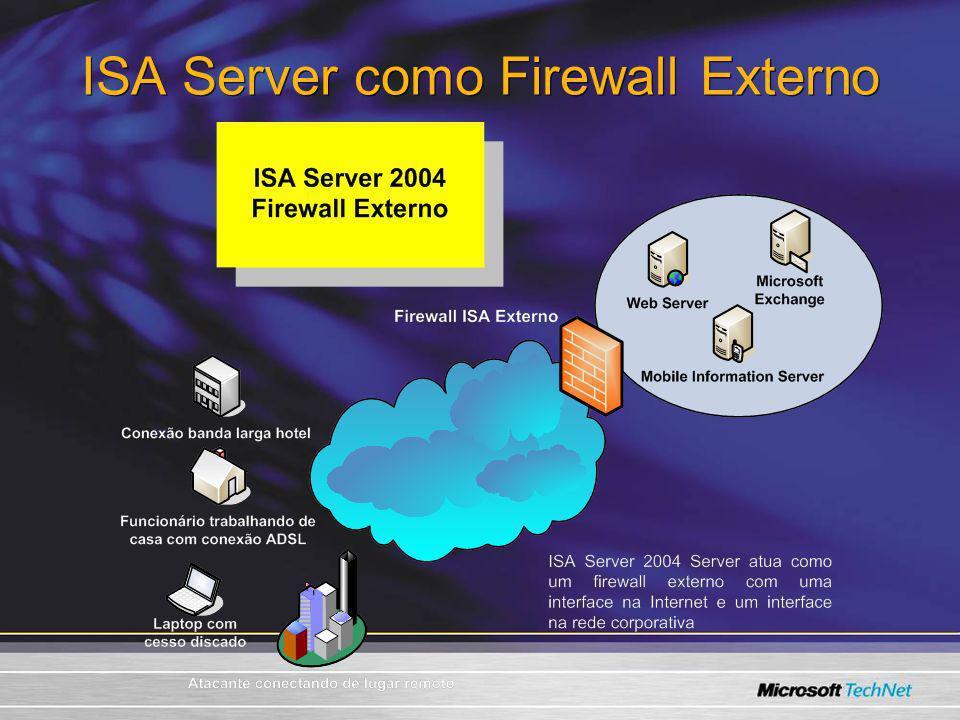 ISA Server como Firewall Externo