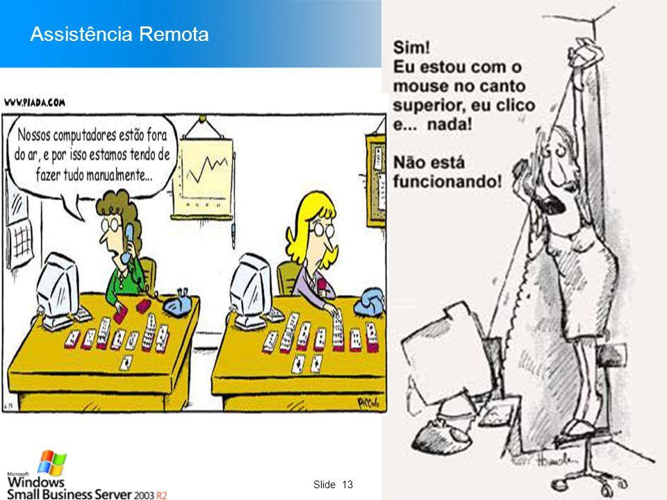 Slide 13 Assistência Remota