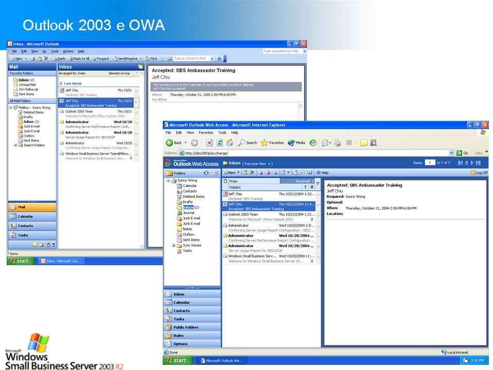 Slide 23 Outlook 2003 e OWA