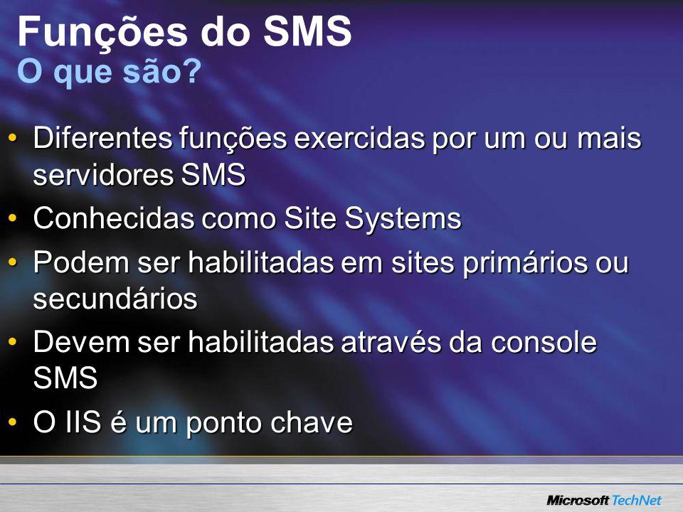 Funções do SMS O que são.