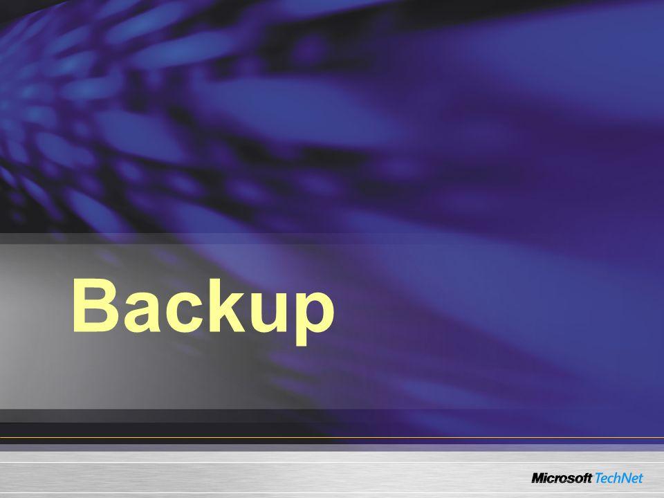 Demo CompletePC Backup Shadow Copy