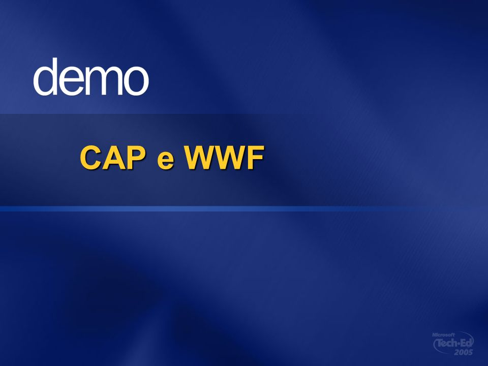 CAP e WWF