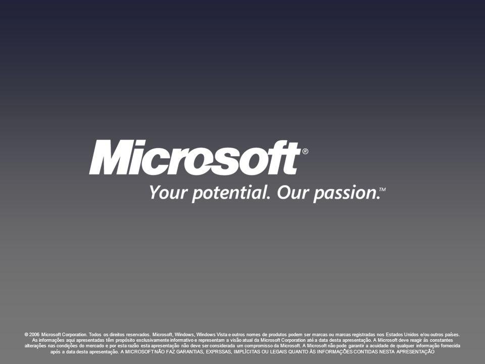 © 2006 Microsoft Corporation.Todos os direitos reservados.