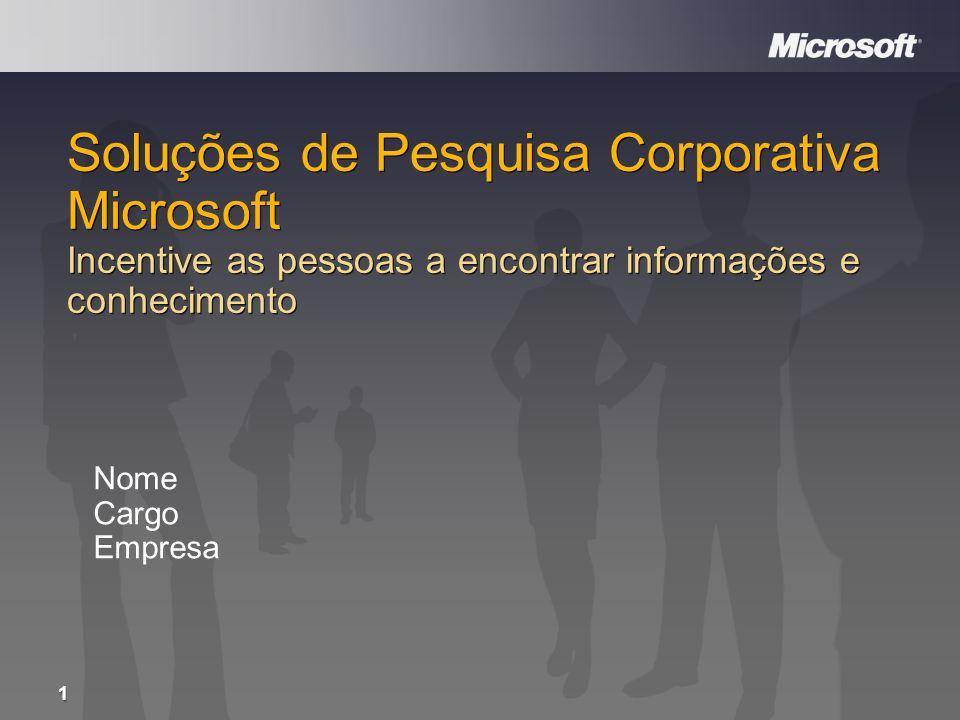 Desenvolvem Relacionamentos com Clientes Melhoram as operações Criam inovações Constroem relacionamentos com parceiros 2 Pessoas Impulsionam os Resultados de Negócios