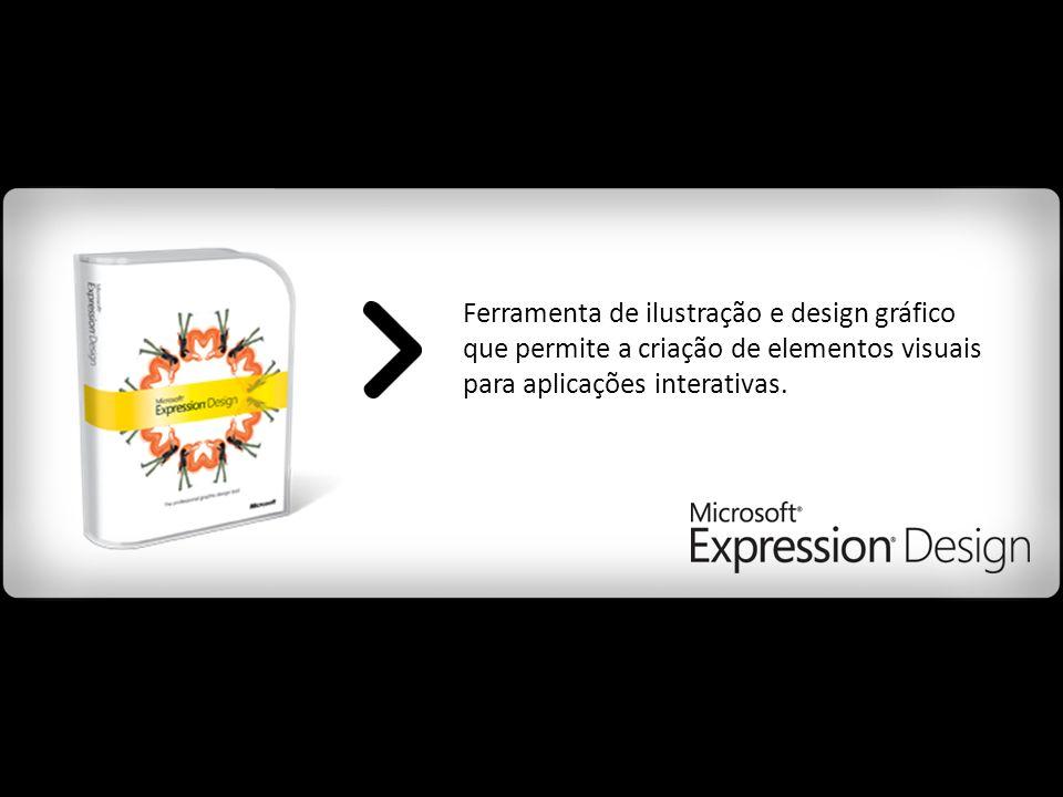 Ferramenta de ilustração e design gráfico que permite a criação de elementos visuais para aplicações interativas.