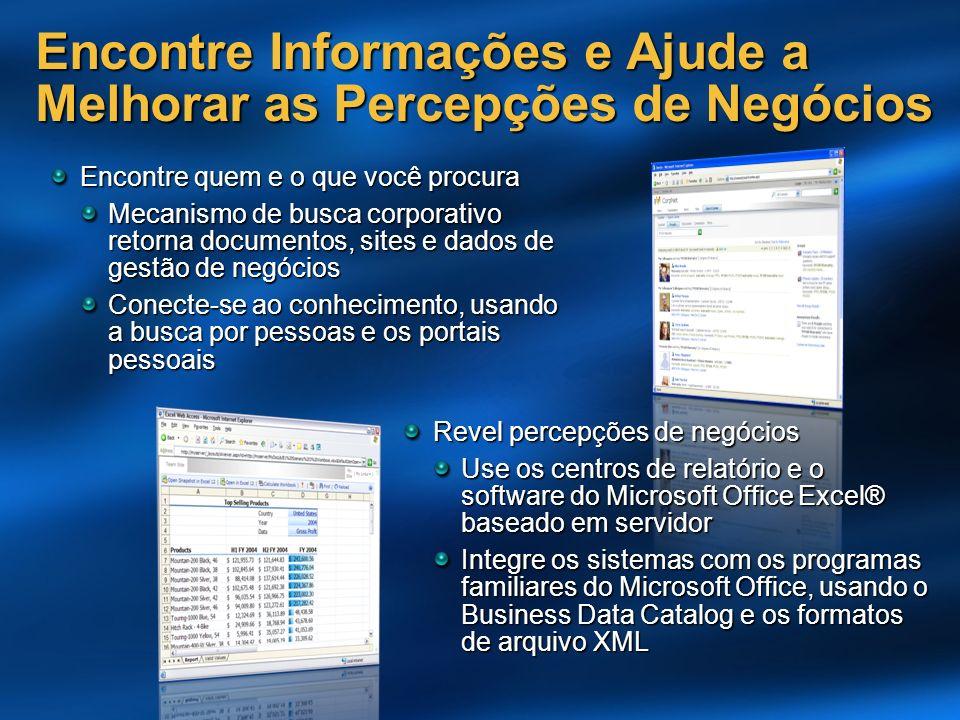 Encontre quem e o que você procura Mecanismo de busca corporativo retorna documentos, sites e dados de gestão de negócios Conecte-se ao conhecimento,