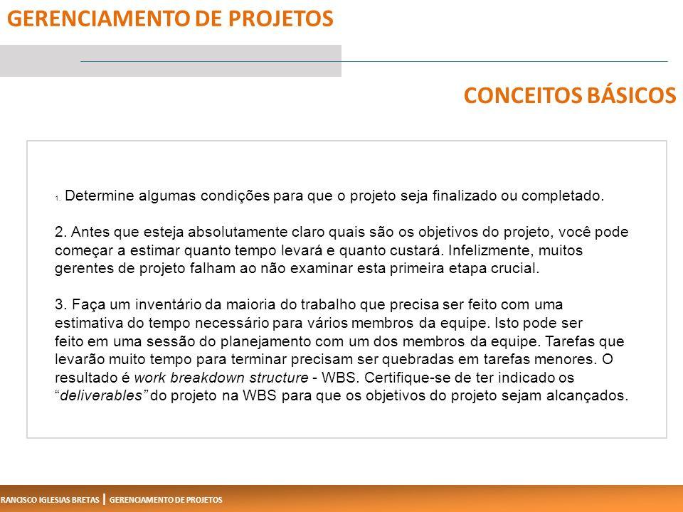 FRANCISCO IGLESIAS BRETAS | GERENCIAMENTO DE PROJETOS 1.